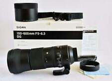 Sigma 150-600mm F5-6.3 DG HSM OS 'C' Lens Nikon Fit - NEAR MINT