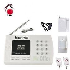 Antifurto casa senza fili con combinatore telefonico allarme wireless con sirena