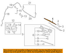 NISSAN OEM 07-13 Versa Wiper Arm-Front Blade 28890ZN90A