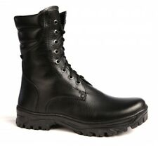 Russian military  genuine leather boots OMON soldier  soviet boots winter boots
