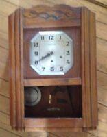 carillon VEDETTE Westminster . 5 marteaux 5 tiges   NO ODO.Pendule ancienne.