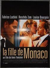 Affiche LA FILLE DE MONACO Anne Fontaine FABRICE LUCHINI Louise Bourgoin 40x60cm