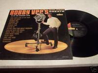 "Bobby Vee ""Golden Greats"" Liberty LRP-3245 MONO LP"