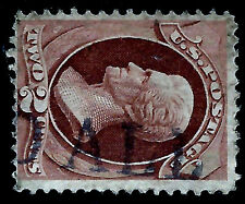 Skinner Estate: 1800s US Fancy Cancel = Partial Straight-Line 'PAID ALL'.....15k