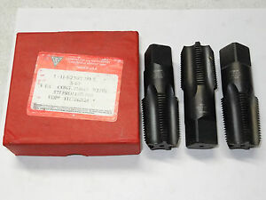 """Details about  /Vermont 1/""""pipe tap 11-1//2 thd.per inch   5 flute new old stock"""