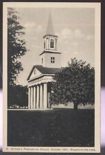 Postcard NIAGARA ON THE LAKE Ont/CANADA  St Andrew's Presbyterian Church 1920's