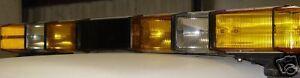 Whelen 4 Strobe Lightbars Police Fire Lightbar New Lens
