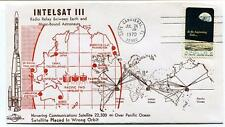 1970 Intelsat 3 Radio Relay Moon Pacific Ocean Wrong Orbit Cape Canaveral USA