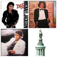 Michael Jackson Bad Thriller Off the Wall Latest Pressings LP Vinyl Record Album
