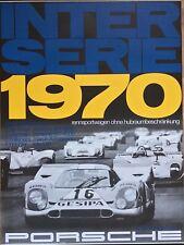 Poster, Reprint, Porsche 917 Gesipa, Jürgen Neuhaus, Interserie Champion 1970