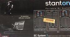 Stanton SC System 3 - 3PC Portable DJ System - (2) DaScratch SCS.3D + SCS.3M