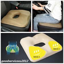 Portable Khaki Car Seats Cover Protect Lower Back Hemorrhoids Health Cushion Pad