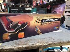 SwagBoard Electric Longboard, Wireless Led Remote New In Box