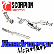 "Scorpion Corsa VXR & Nurburgring Exhaust 3"" Turbo Back Non Res & Cat A16 (10-13)"