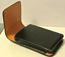 For iPhone 6 6s Plus, Black Leather Vertical Belt Clip Handyman Case Cover Pouch