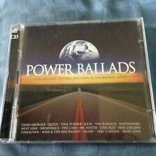 POWER BALLADS- GREATEST DRIVING ANTHEMS IN THE WORLD 2CD