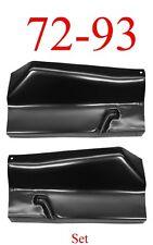 81 93 Dodge Outer Floor Panel Set Regular Cab & Club Cab Truck 1581-223 1581-224