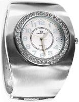 Breite Armreif JORDAN KERR Armbanduhr für Damen Swarovski Steine