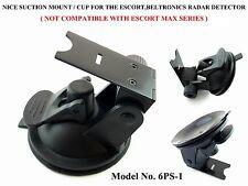 Super Grip Suction Cup Mount For Beltronics,Escort Passport Radar Detector 9500!