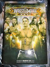 WWE WRESTLEMANIA 26 SOUVENIR ARENA EDITION PROGRAM 2010 PHOENIX STADIUM ARIZONA