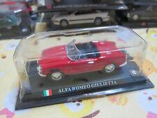 delPrado - Scale 1/43 - Alfa Romeo Giulietta - Red - Mini Toy Car - A7