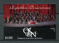 More details for dominican rep 2018 mnh national symphony orchestra 1v impf set music stamps