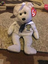 "New ListingTy Beanie Babies Uss Ronald Reagan Ronnie the Bear 9"" Beanbag Plush Stuffed Toy"