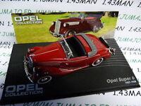OPE76R coche 1/43 IXO eagle moss OPEL colección : SUPER 6 1937/1938