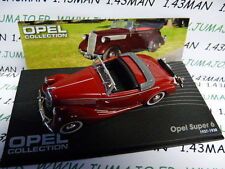 OPE76 voiture 1/43 IXO eagle moss OPEL collection : SUPER 6 1937/1938