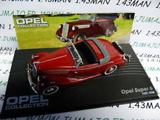 voiture 1/43 IXO eagle moss OPEL collection : SUPER 6 1937/1938