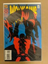 Marvel Comics Wolverine 88 Classic Deadpool Cover VF/NM  Rare Newsstand
