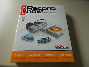 Roxio Record Now! Deluxe, Music & Data Copy & Burning, #SO-49