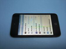 Apple iPod touch 4th Generation (Late 2010) Black (8GB) - ISSUE