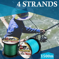 1500m Japanese Super Strong PE Braided Fishing Line Multifilament Fishing Line