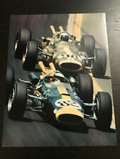 JIM CLARK LOTUS 500 MILES INDIANAPOLIS - COUPURE CLIPPING RECORTE - FRENCH - M15