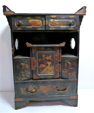 Cabinet Table Jewelry Mail in Lacquer of Japan XIX ° Th Asia China