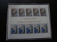 MONACO - timbre yvert et tellier bloc n° 14 n** (Z10) stamp