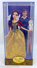 Disney Fairytale Designer Collection Snow White & The Prince Dolls 1 of 6000