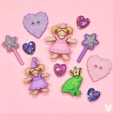 DRESS IT UP Buttons & Flatbacks Embellishments Little Princess 5812