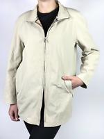 BURBERRY LONDON women's beige nova check trench coat / jacket | Size EUR 38
