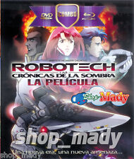 Robotech The Shadow Chronicles - Las Cronicas de la Sombra Combo DVD y Blu-Ray