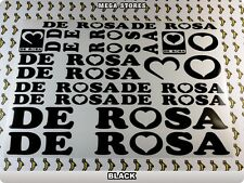 DE ROSA Stickers Decals Bicycles Bikes Cycles Frames Forks Mountain MTB BMX 59Y