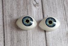 Dolls eyes - yeux en acrylique pour poupées BJD ou reborn - 16 x 22mm