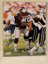 Mike Compton Signed New England Patriots 8x10 Photo Tristar