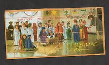Australia #1008, Christmas 1986 souvenir sheet.