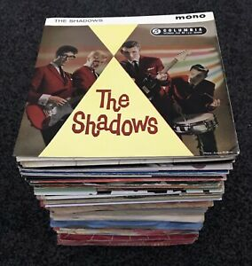"""JOB LOT OF 100 x 7"""" singles & EPs 1950s & 1960s rock pop & jazz etc *ALL LISTED*"""