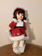 Knickerbocker Terri Lee Christmas Holiday 2000 16'' Ice Skater Doll