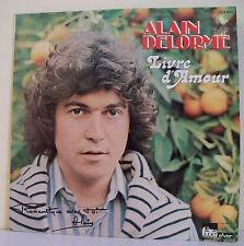 """33T Alain DELORME Disque LP 12"""" LIVRE D'AMOUR -ROMANTIQUE AVEC TOI -JULIET 75800"""