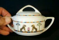 Beautiful Rosenthal Donatello Sias Lidded Sugar Bowl
