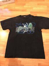 Led Zeppelin Icarus Black T Shirt Large